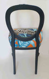 Antique French Oval Cabriolet Leg Dining Chair