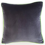 Luxury Velvet Zebra Cushion