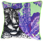 Luxury Velvet Jaguar Cushion