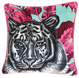 Luxury Velvet Tiger Cushion