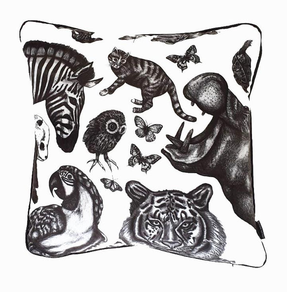 Square Animal Cushion (left)