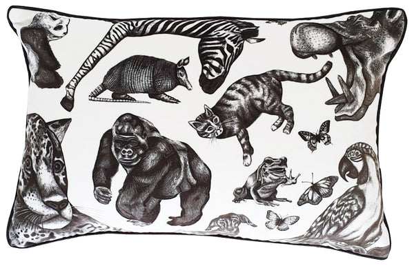 Large Rectangular Animal Cushion (right)
