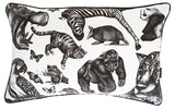 Large Rectangular Animal Cushion (left)