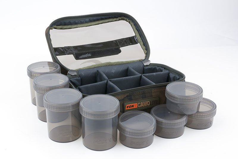 Fox CamoLite 8 Pot Glug Case CLU310