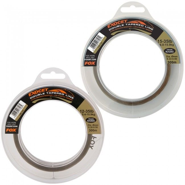 Fox NEW Carp Fishing Exocet Double Tapered Mainline 300m
