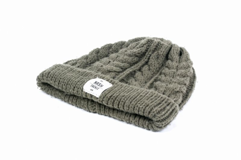 Nash Tackle Chunky Knit Beanie Hat