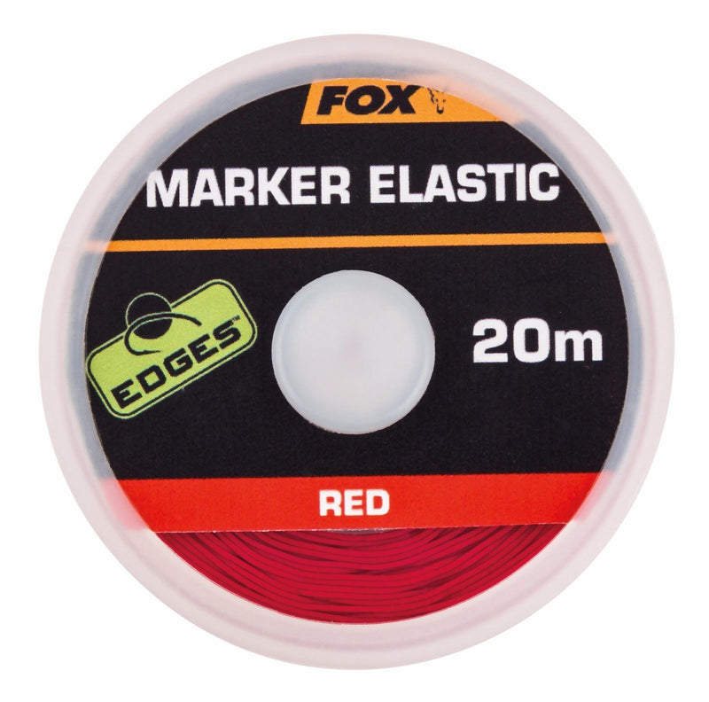 Fox Edges Marker Elastic Red 20m Spool CAC484