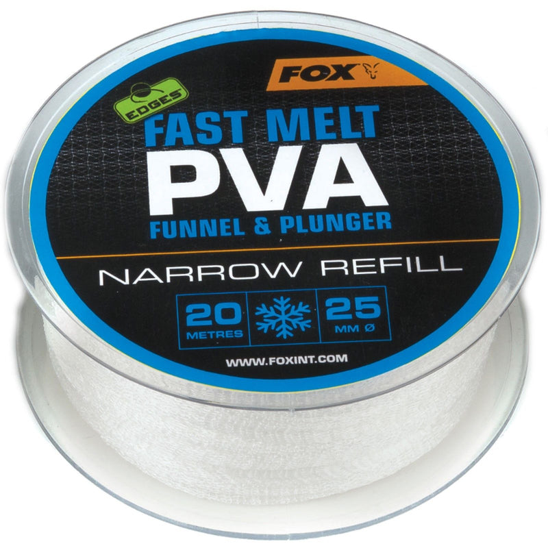 Fox Edges Slow Melt PVA Mesh Refill 20m Narrow or Wide