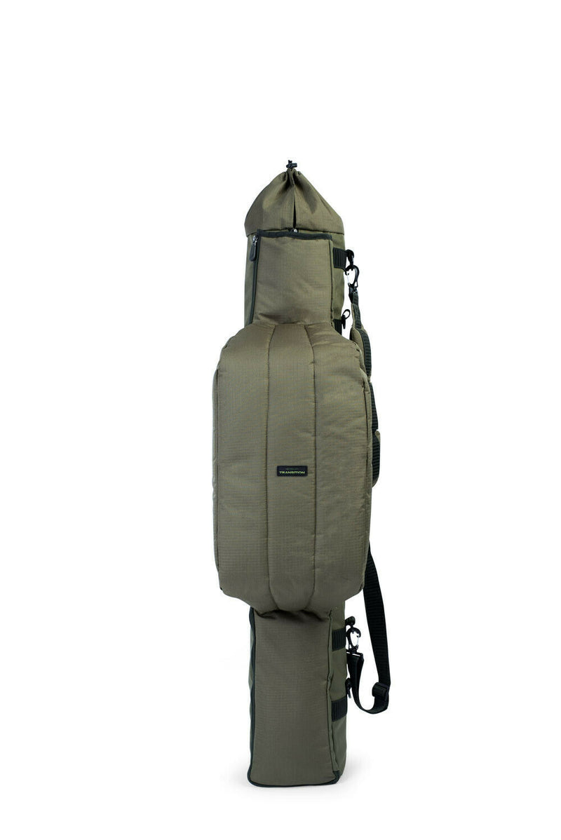 Korum Transition 3 Rod Folding Quiver Holdall NEW Fishing Luggage K0290049