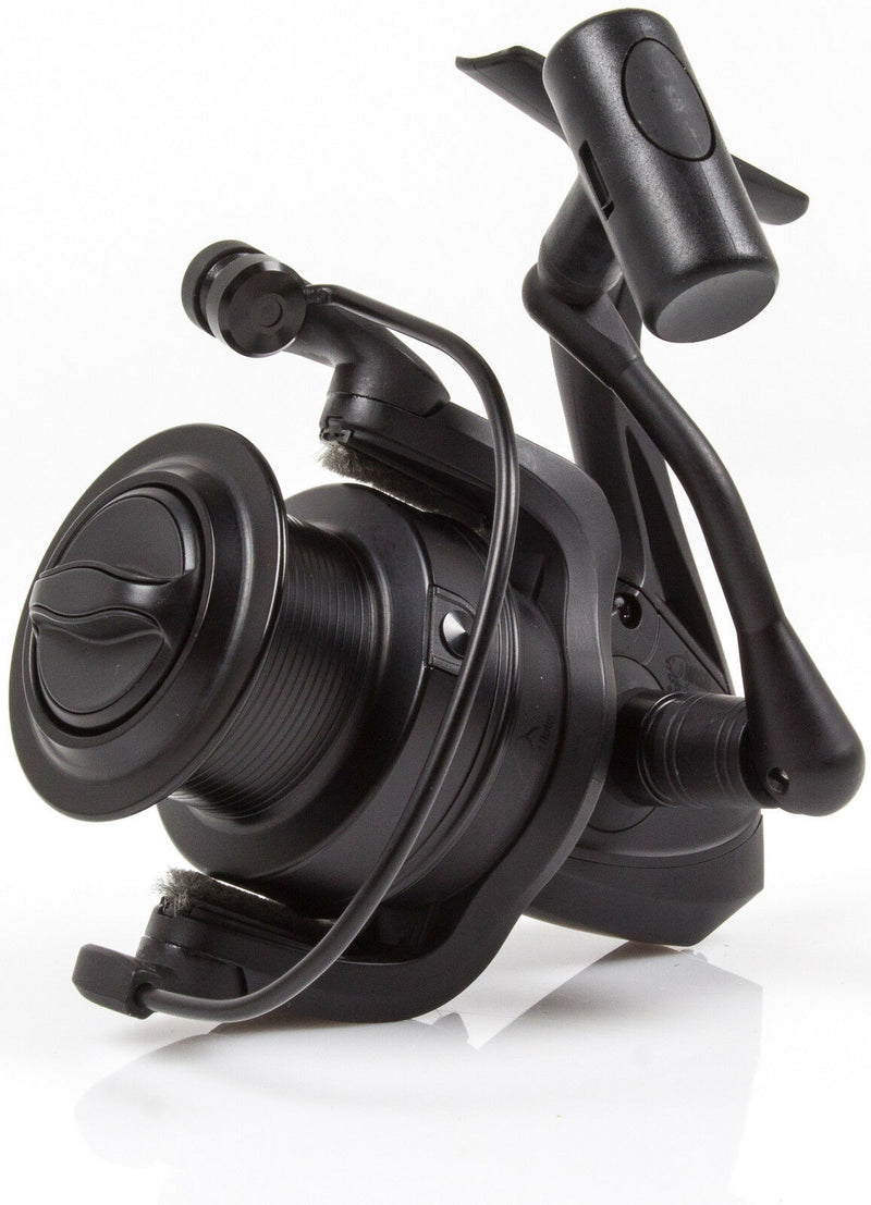 Nash BP-6 Fast Drag Matt Black Carp Fishing Reel T2021