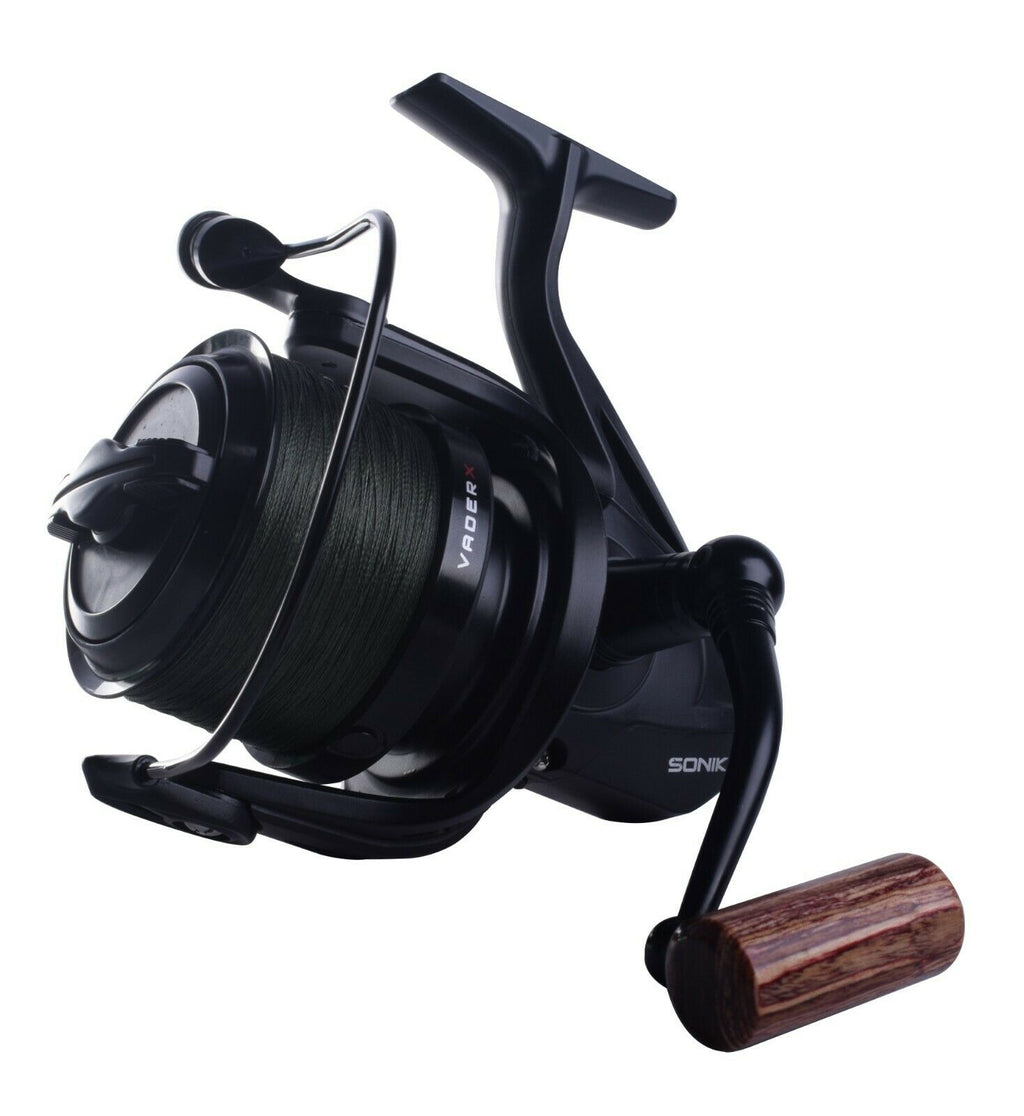 Sonik Vader X 8000 RS Spod Reel Loaded with 30lb Braid VXR080RSPD