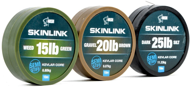 Nash Skinlink Coated Braid Hooklink
