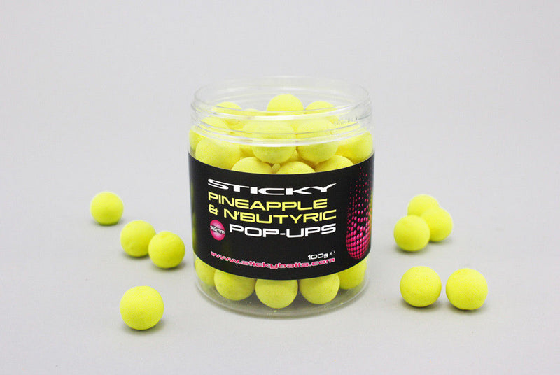 Sticky Bait Pineapple & N'Butyric Pop Ups & Wafters Full Range