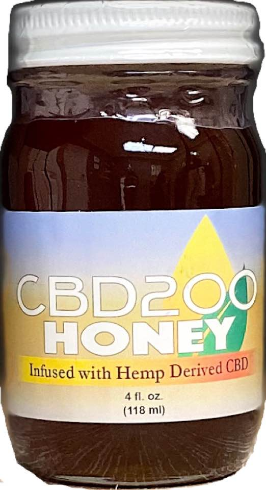 Raw CBD Honey