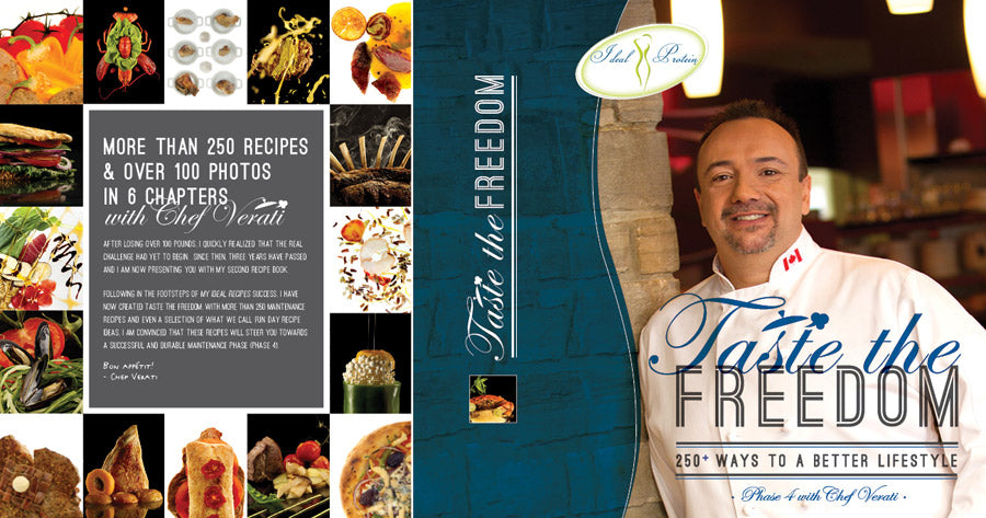 """Taste The Freedom"": Phase 4 cookbook with Chef Verati 25% OFF!!!"