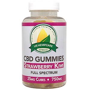 Strawberry Kiwi CBD Gummies (750mg)