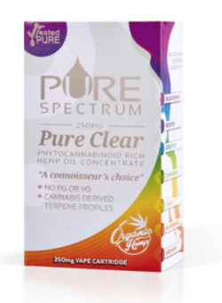 Vape Sour Diesel - Pure Clear Cartridge (CBD 250MG)