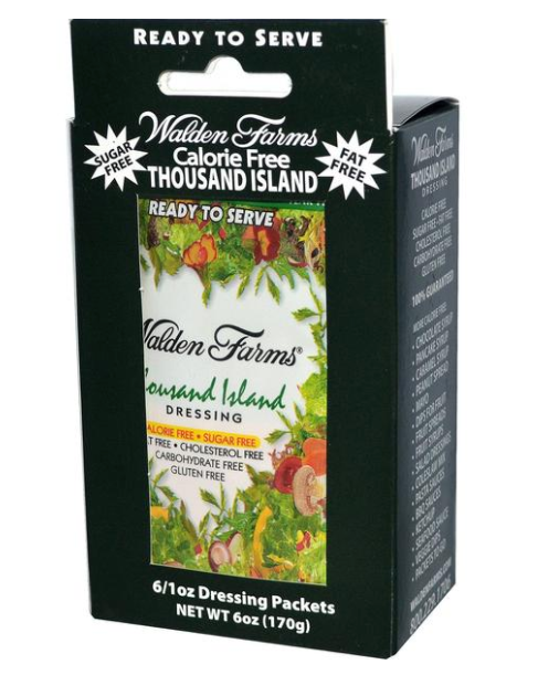 Walden Farms Ready-to-Serve Thousand Island Dressing - Single
