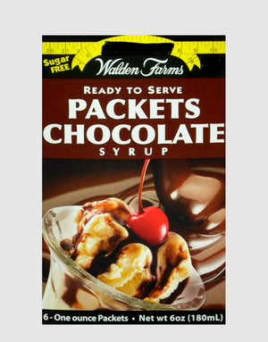Walden Farms Ready-to-Serve Chocolate Syrup Packets