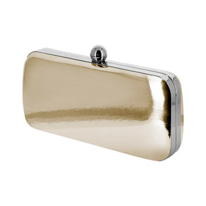 Dara Gold Mirror Clutch