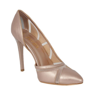LALE Pearl PinkTulle Stiletto (Right View)