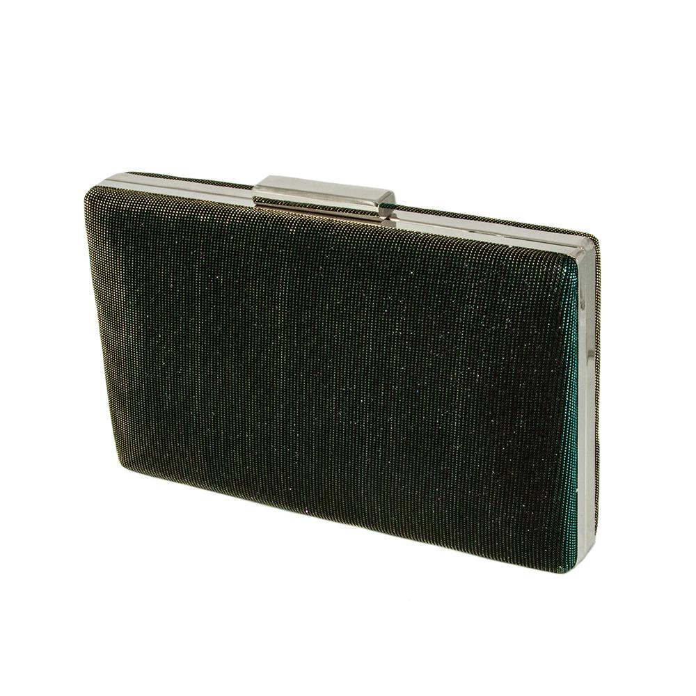Seri Emerald Green Gold Clutch