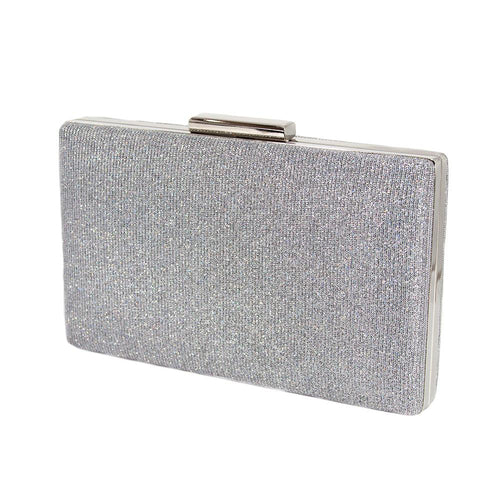 Seri Silver Diamond Clutch