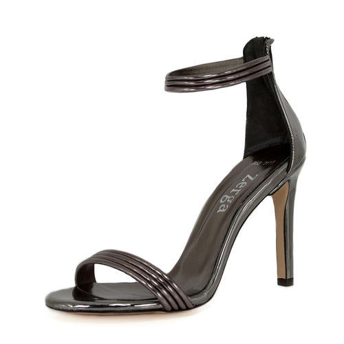 Susu Anthracite Mirror Sandal (Left View)