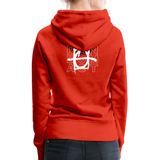 We Shall Overcome Random Act Women's Premium Hoodie - red