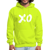 XO Random Act Men's Hoodie - safety green