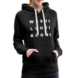 We Shall Overcome Random Act Women's Premium Hoodie - charcoal gray