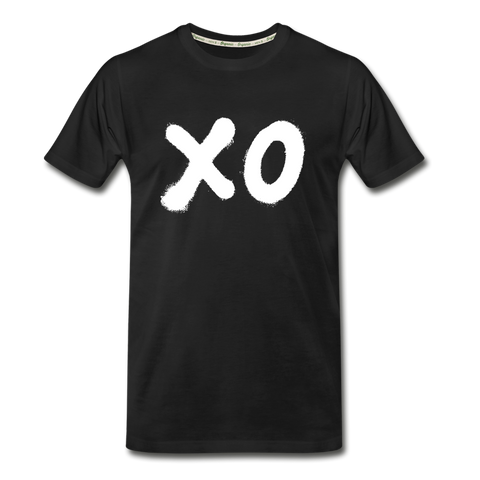 XO Random Act Men's Premium Organic T-Shirt - black