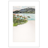 Aloha Wolfgangsee Watercolor Postcards