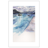 Wolfgangsee Aloha Watercolor Postcards