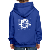 Buckley Num Num Kids' Premium Hoodie - royal blue