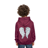 You Got This Wings Kids' Premium Hoodie - burgundy