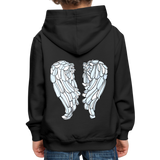 Grow Grow Wings Kids' Premium Hoodie - black
