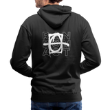 We Shall Overcome Men's Premium Hoodie - black