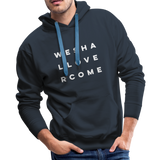 We Shall Overcome Men's Premium Hoodie - navy