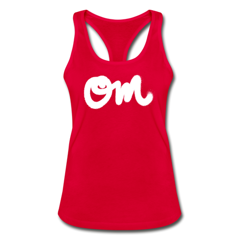 OM Random Act Women's Racerback Tank Top - red