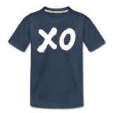 XO Wings Toddler Premium Organic Cotton T-Shirt - navy