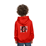 Love Is Skunk Kids' Premium Hoodie - red