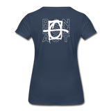 We Shall Overcome Random Act Women's Premium Organic T-Shirt - navy