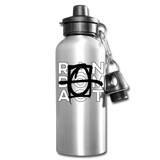 NUM NUM Buckley Random Act Aluminum Water Bottle - silver