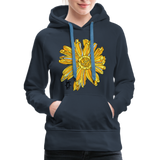 Sunflower Random Act Women's Premium Hoodie - navy