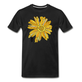 Sunflower Men's Surferer Premium Organic Cotton T-Shirt - black