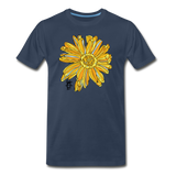 Sunflower Men's Surferer Premium Organic Cotton T-Shirt - navy