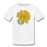 Sunflower Kid's Surfer Premium Organic Cotton T-Shirt - white