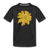Sunflower Kid's Surfer Premium Organic Cotton T-Shirt - black