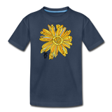 Sunflower Kid's Surfer Premium Organic Cotton T-Shirt - navy